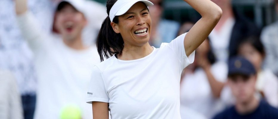 Hseih Su-wei of Chinese Taipei (Credit: Carl Recine/Reuters)